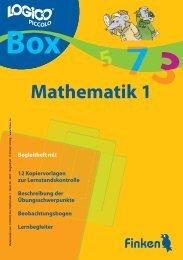 Logico-Box Mathematik 1