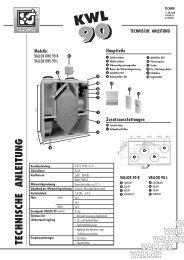 vallox kwl 90 - Heinemann GmbH