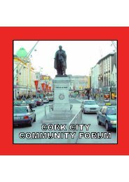 Cork City Community Forum - Cork City Council