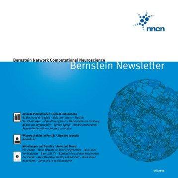 Bernstein Network Computational Neuroscience - Bernstein Center ...