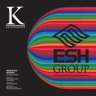 Kaleidoscope 2011 – March Edition - Esh Group