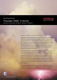 Thunder 9500 Overview - Unylogix Technologies Inc.