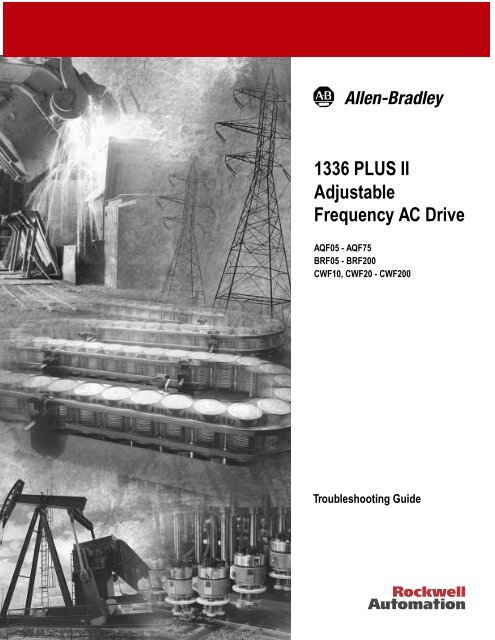 1336 PLUS II Adjustable Frequency AC Drive - Cincinnati State
