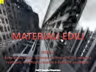 MATERIALI EDILI e STRUTTURE - Currarini.eu