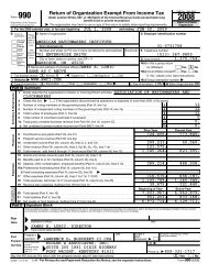 2008-2009 AWCI IRS Form 990 - The American Watchmakers ...