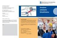 Reha Zentrum City Hamburg - Berufsgenossenschaftliches ...