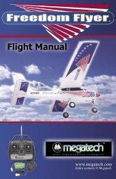 Freedom Flyer Instruction Manual - High Definition Radio Control