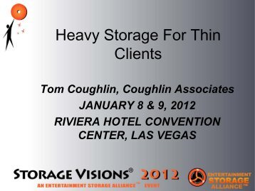 from SV 2012 - Coughlin Associates