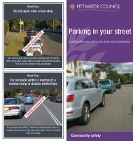 Parking in your street brochure