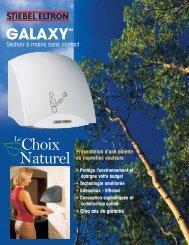 Galaxy Séchoir a Mains sans Contact - Stiebel Eltron