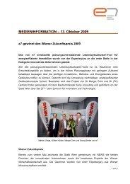 Pressemeldung - e7 - Energie Markt Analyse