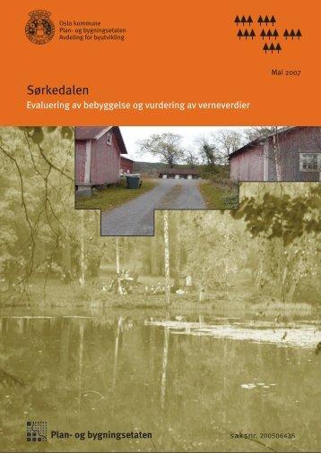Sørkedalen - Plan