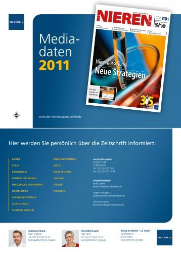 Media- daten 2011 - Kirchheim-Verlag