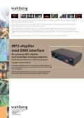 MP3-afspiller med DMX interface - Wahlberg - Page 2