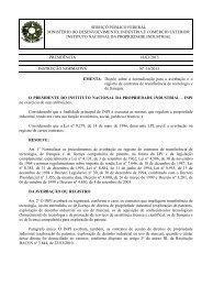 Instrução Normativa 16-2013 - Inpi