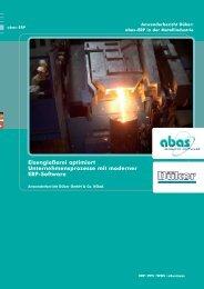 Eisengießerei optimiert Unternehmensprozesse mit moderner ERP ...
