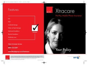 Xtracare - Lifestyle Services Group Ltd