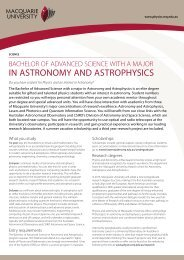IN AstroNomy ANd AstroPHysICs - Physics and Astronomy