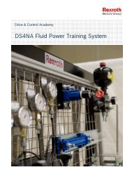 DS4NA Fluid Power Training System - Bosch Rexroth