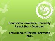 zde - Konfuciova akademie - Univerzita Palackého v Olomouci