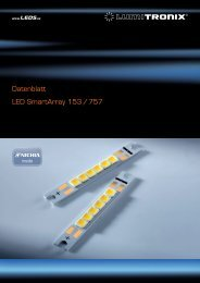 Datenblatt SmartArray 726.49 KiB - LEDS.de