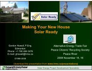 Making Your New House Solar Ready - Howell-Mayhew Engineering