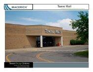 Towne Mall Food Court Criteria - Macerich