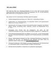 100 Jahre ZSAV - Zentralschweizer Armbrustschützen Verband