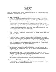 UACTE Meeting Spring 2013 February 14, 2013 Present: Mary ...