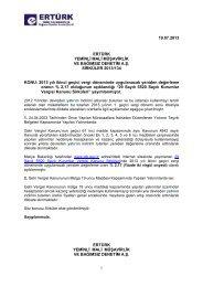 134-2013 Yılı İkinci Geçici Vergi Döneminde Uygulanacak Yeniden ...