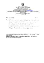 12. jūnija ārkārtas domes sēdes protokols - Ropaži.lv