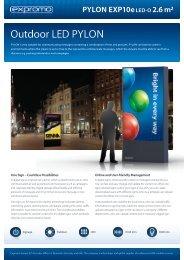 PYLON EXP10e LED-O 2,6 m² - ProShop Europe