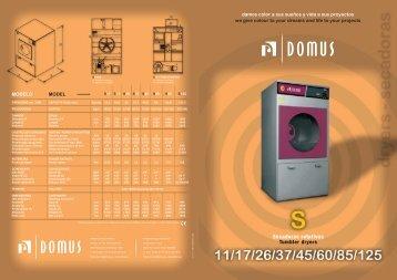 Secadoras rotativas Tumbler dryers - Laundry Equipment