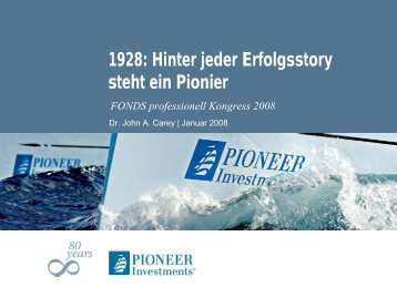 Pioneer Funds - FONDS professionell