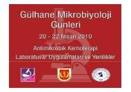 Antimikrobiyal Duyarlılık Testleri - Yakut Akyön Yılmaz
