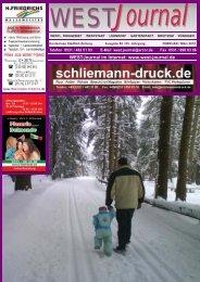 WEST Journal Februar 2010.cdr - Julia Schliemann Verlag