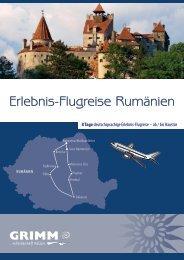 Erlebnis-Flugreise Rumänien - Grimm Reisen