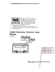 LK200 Electronic Reverse Loop Module - Lenz USA