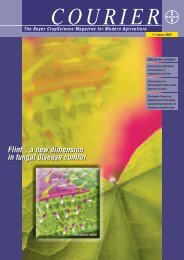 Flint®, a new dimension in fungal disease control Flint®, a new ...