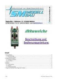 SM Anleitung Akkuweiche 05.2006.odt - SM-Modellbau