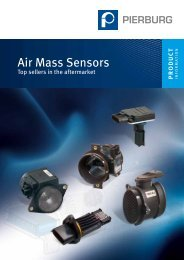 Air mass sensors - Top Sellers in the Aftermarket