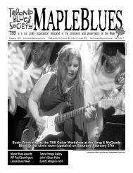 Suzie Vinnick hosts the TBS Guitar Workshop at - Toronto Blues ...