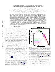 arXiv:astro-ph/0207047 v2 2 Jul 2002 - iucaa