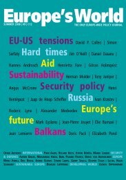 English - Europe's World