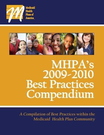 2009-2010 Best Practices Compendium - Medicaid Health Plans of ...