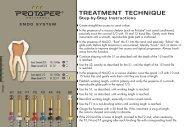ProTaper Treat Tip Card - Endodonzia Dr. Mauro Venturi Home
