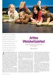 Jettas Weisheitszirkel - Hagia Chora Journal
