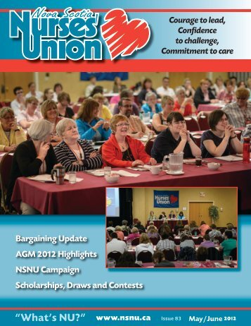 May / June 2012 - Nova Scotia Nurses' Union