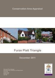 Furze Platt Triangle - The Royal Borough of Windsor and Maidenhead