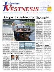 2013.gada 18.jūlijs Nr.29(316) - Jelgavas Vēstnesis